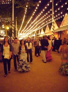 Feria de Abril in Sevilla