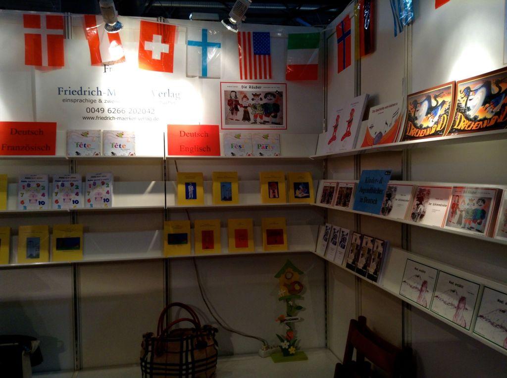 Der Friedrich-Maerker-Verlag bei der Buchmesse Leipzig 2014