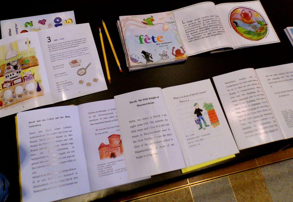 Herbst Buchmesse 2sprachige Bücher