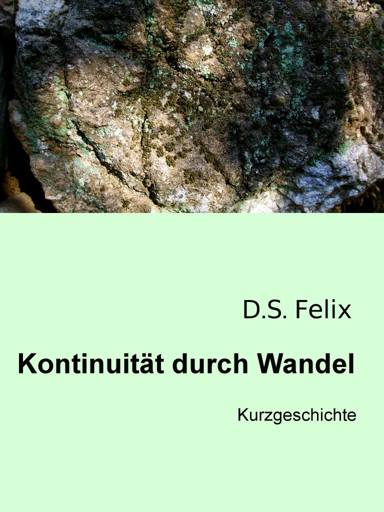 Kontinuität durch Wandel © D.S. Felix
